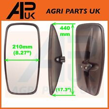 NEW Universal Mirror Head + Glass Tractor Lorry Digger Truck Plant JCB Bus Truck