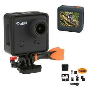 Rollei Action Cam 400 Actioncam mit FullHD WiFi 150° Sport Kamera Weitwinkel