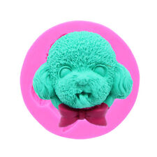 Silicone Animal Dog Head Mould Cake Cookie Fondant Sugarcraft Mold Baking Tool
