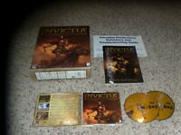 Invictus In the Shadow of Olympus (PC, 1999) Game with Big Box & Manual