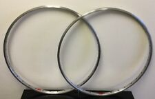 SUPER CHAMPION 27 INCH RIM SET (2) 36H SCHRADER CLINCHER