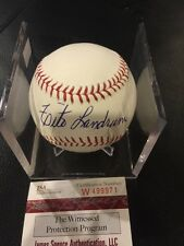 Tito Landrum Baltimore Orioles Autographed ROML Baseball JSA Authenticated