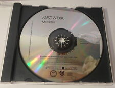 MEG & DIA - Monster PROMO CD single (WB/Doghouse PRO-CD-102007) EXC LN COND