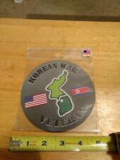 Korean War Veteran Car Refrigerator 5 inch Magnet USA Made UV Protected