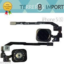Flex Home iPhone 5S Touch ID Sensor Huella Dactilar Negro