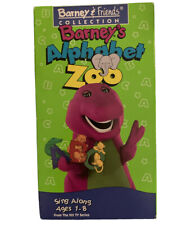Barneys Alphabet Zoo Vintage VHS-Barney & Friends Collections 1994