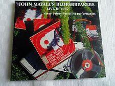 CD  JOHN MAYALL'S BLUESBREAKERS   LIVE IN 1967