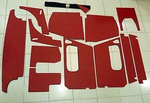 TRIM KIT MG MIDGET RED/BLACK 64-66 (Kit tapizado) TK212MAMIDGET