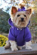 Size S Doggie Design Sports Dog Hoodie Purple Ultra Violet Sport