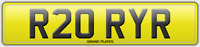 R20 RYR NUMBER PLATE RORY R REGISTRATION ASSIGNED OR DELIVERED RORY'S REG NO FEE