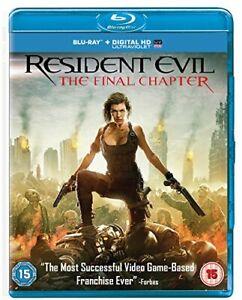 Resident Evil: The Final Chapter [Blu-ray] [2017] [Region Free] [DVD][Region 2]