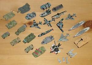 Micro Machines Military choose from battleships warplanes copters tanks trucks