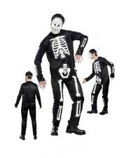 Costume Halloween Adulto Scheletro 3d travestimento tg M smiffys *09084