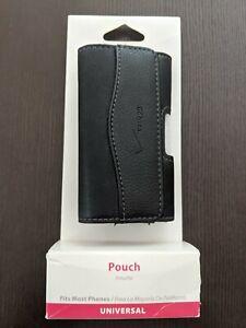 "Premium Verizon Universal Leather ""Pouch"" - Fits Most Smartphones"