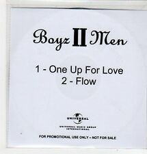 (FF617) Boyz II Men, One Up For Love / Flow - DJ CD