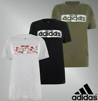Ladies Adidas Crew Neck Short Sleeves Camo Logo T Shirt Sizes from 8 to 22