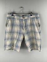 BCLN Golf - Men's Shorts - Size 36 - Blue Check