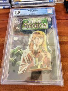 House of Secrets #92 DC 1971 CGC 3.0 comic! 1st Swamp Thing!