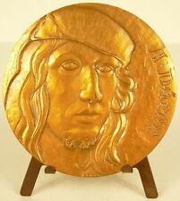 Médaille Peintre graveur allemand Albrecht Dürer der Jüngere sc A Bloc Medal
