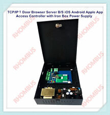 TCP/IP 1  Door Browser Server B/S iOS Android Apple App Access Control w/Power