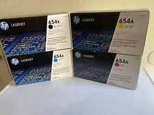 HP 654X 654A Toner CF330X CF331A CF332A CF333A Full Set Enterprise For M651