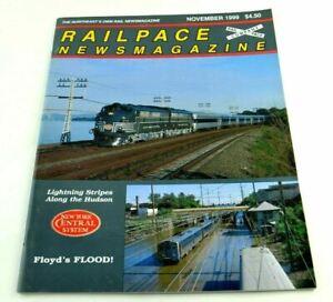 Railpace News Magazine Newsmagazine Train Illustrated Picture Info November 1999