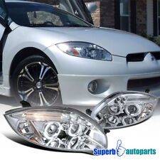 2006-2011 Mitsubishi Eclipse Halo Led Projector Headlights Clear SpecD Tuning