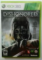 Dishonored (Microsoft Xbox 360, 2012) COMPLETE With Manual Tested