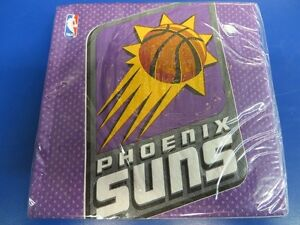 Phoenix Suns NBA Pro Basketball Sports Banquet Party Paper Luncheon Napkins