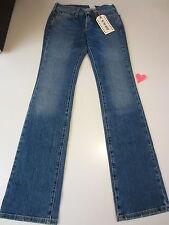 Lucky W's Jeans 7W10191 Retro RIder Medium Wash Denim Size 24 Long $88 NWT