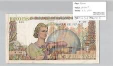 BILLET 10000 FRANCS GENIE FRANCAIS - 4-5-1951*