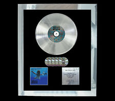 NIRVANA NEVERMIND  MULTI (GOLD) CD PLATINUM DISC FREE POSTAGE!!