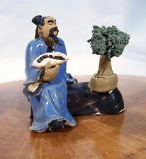 Bonsai Gärtner 299  Porzellan Figuren Koi Asien Figur Asiatika ca. 5,5 x 5,5 cm