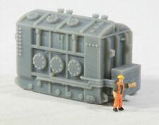 "N Scale High Voltage Transformer Base ""Hamilton"" for Model Railroad"