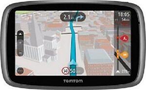 TomTom Go 5100 Navi Radarwarnung lebenslange kostenlose Updates incl.16GB Karte