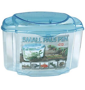 LivingWorld Small Animals Pals Pen Plastic Cage Tank Terrarium Large 8.57L