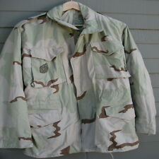 Army Cold Weather Field Coat, desert camo, w Recruiter Badge size Small Long