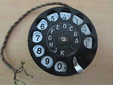 Nummernschalter für W28  Ersatzteil Telefon Wählscheibe Deutsche Reichspost 1934