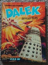 Terry Nation's Dalek Annual 1976 Hardback Associated Book Unclipped Doctor Who