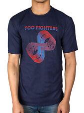 Official Mens Foo Fighters Loops Logo T-Shirt Rock Band Medium Rare B-Sides 1994