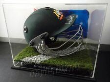 ✺Signed✺ MITCHELL JOHNSON Cricket Helmet PROOF Australia 2018 Shirt Jersey
