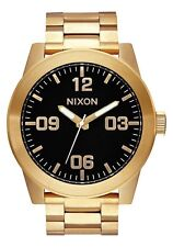 Nixon Original Corporal SS A346-510 Gold Stainless Steel 48mm Watch