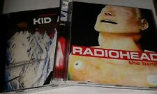 2 RADIOHEAD CD KID A & THE BENDS