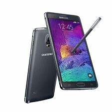 Samsung Galaxy Note 4 SM-N910A GSM AT&T 4G LTE 32GB Black w/ Extras - SEE NOTE!!