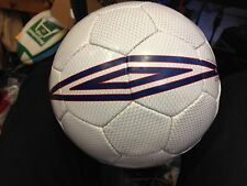 UMBRO  WASP BALL SIZEr 5   AT £4  1YEAR GURANTEE SHAPE /STITCHING  silverBNWL