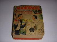 Mandrake the Magician, Better Big Little Book #1454, See Em Move, Whitman, 1941