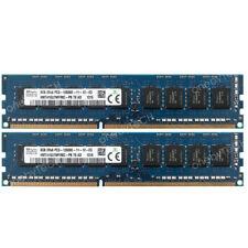 16GB 2x8GB PC3-12800E DDR3 1600 ECC Unbuffered HP ProLiant MicroServer Gen8 RAM