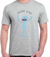 Existence Is Pain Mr Meeseeks Funny Rick & Morty Top Nihilism Unisex T shirt Tee