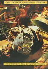 X2100 Zaini CAMEL Trophy Sack - Pubblicità 1989 - Advertising