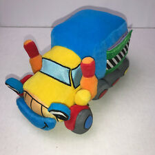 Soft Play Plush Truck Book Rattle Interactive Developmental Farmer Brown Story